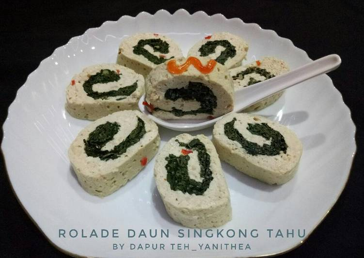 Resep Rolade Daun Singkong Tahu