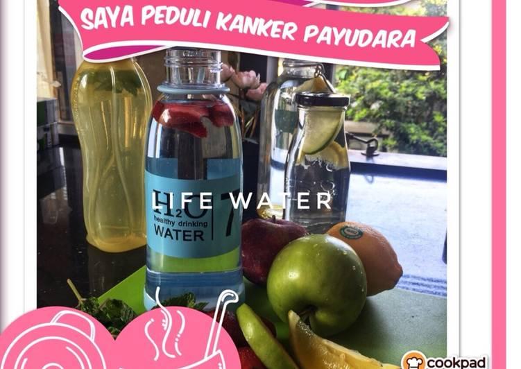 Resep Good Mood : Water & Fruit