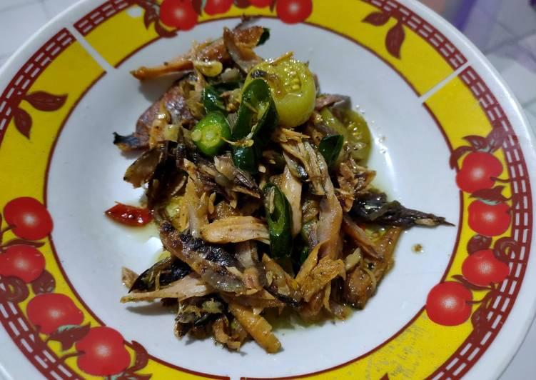 Resep Ikan tongkol Suwir Cabe Ijo