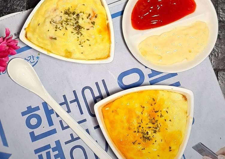 Resep Korean Egg Bread
