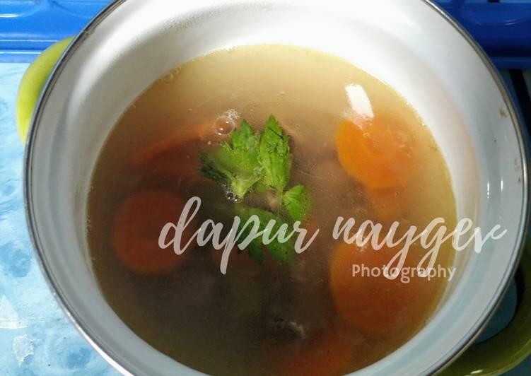 Resep Sup daging kombinasi