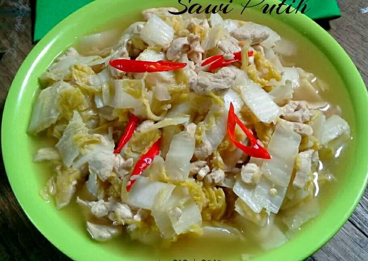 Resep Tumis Ayam Sawi Putih