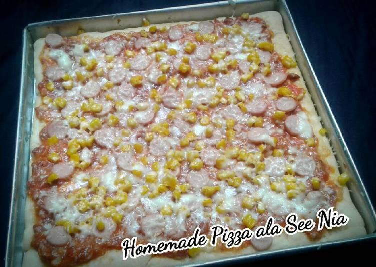 Resep Homemade Pizza