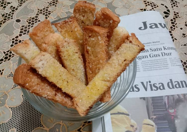 Resep Bagelen roti tawar