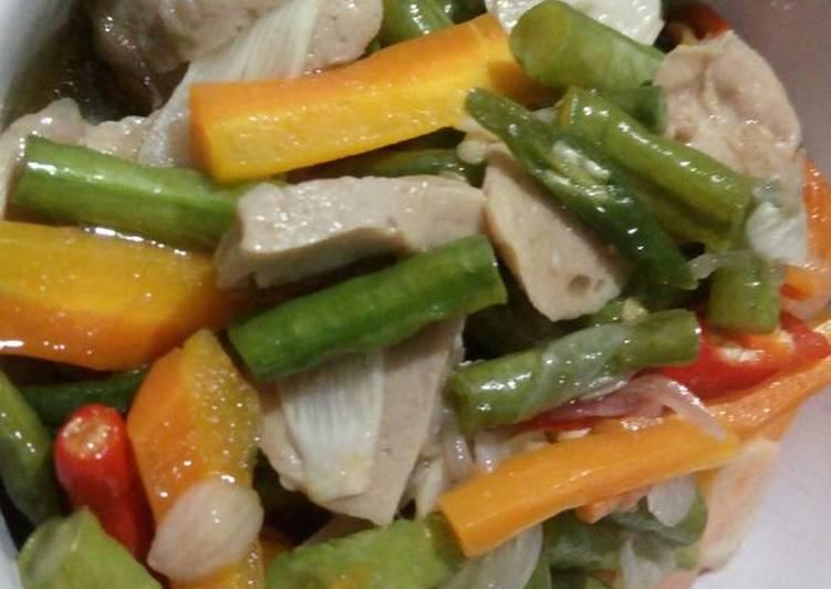 Resep Tumis kacang panjang wortel