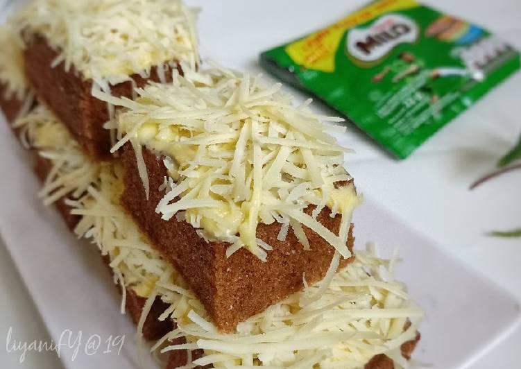Resep Brownies Kukus Milo simpel Super Lembut