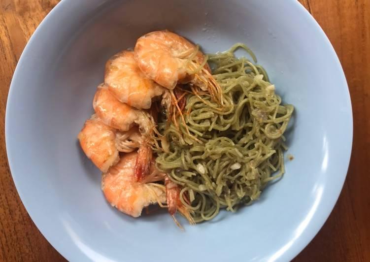 Resep Makanan Anak Mie Goreng Udang