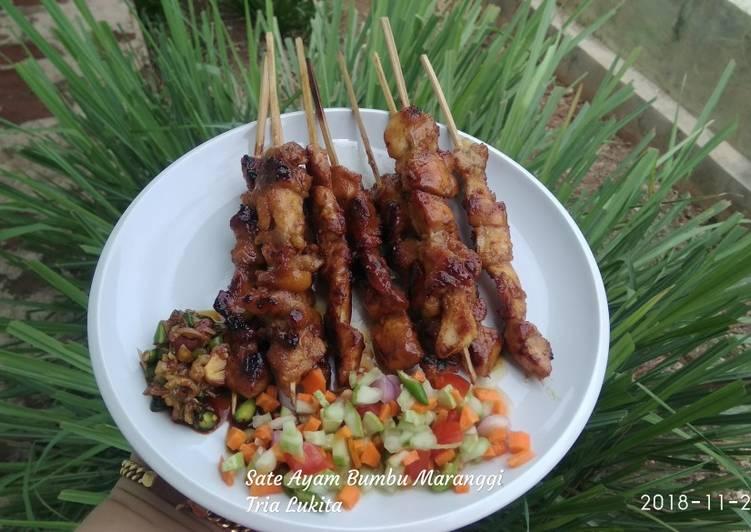 Resep Sate Ayam Bumbu Maranggi