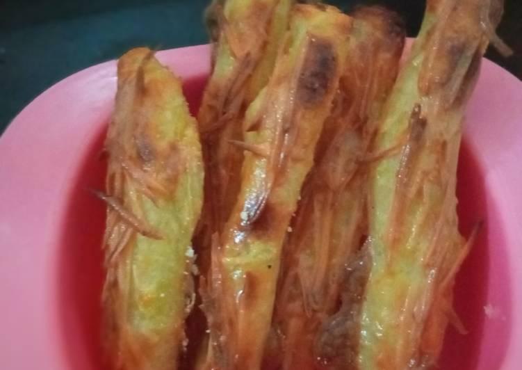 Resep Stik kentang keju panggang