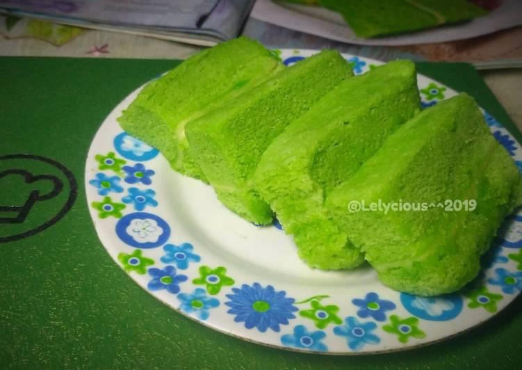 Resep Cake Pandan Lapis Keju