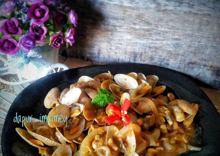 Resep Kerang batik saos tiram
