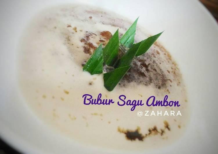 Resep Bubur Sagu Ambon