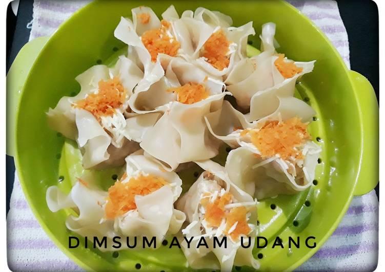 Resep Dimsum Ayam Udang