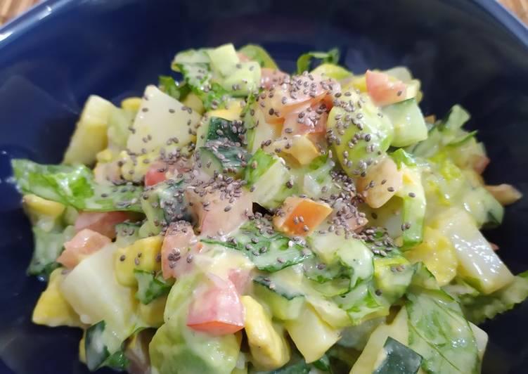 Resep Avocado Salad