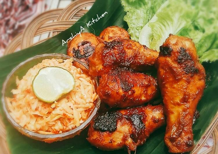 Resep Ayam Bakar Kalasan & Sambel Mangga