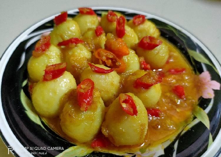 Resep Acar Tigu (olahan telur khas Kalimantan Timur)