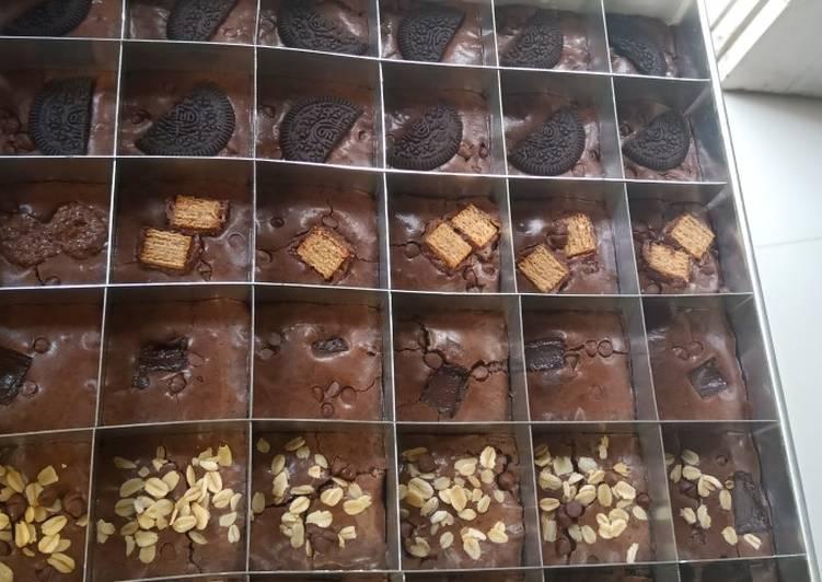 Resep Brownies sekat