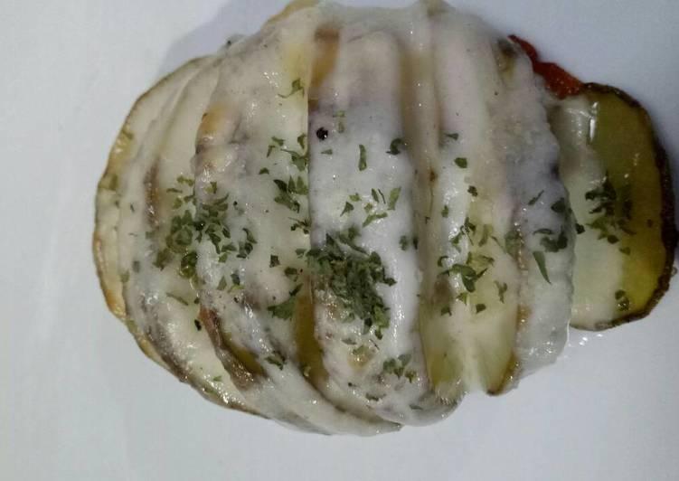 Resep Hasselback Potato