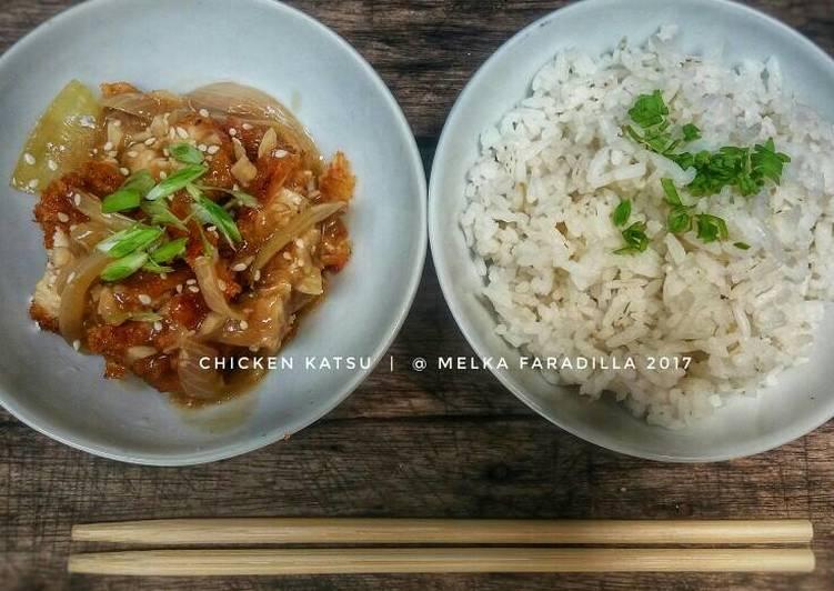 Resep Chicken Katsu with Steak Sauce