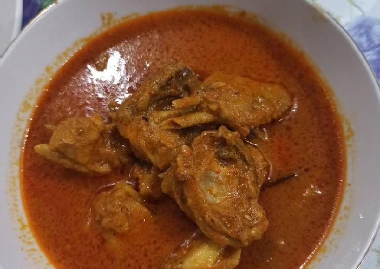 Resep Ayam kaliyo tanpa santan