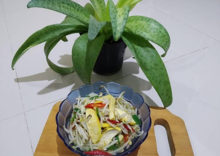 Resep Oseng Toge Tahu Kuning