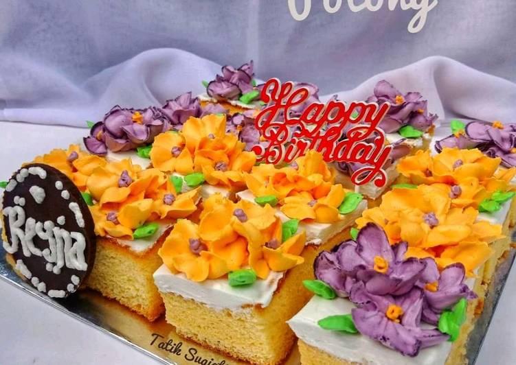 Resep Cake Potong