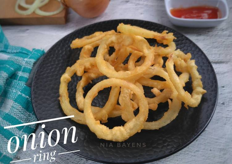 Resep Simple onion ring (#Bandung_recookLisa_Kitchen)