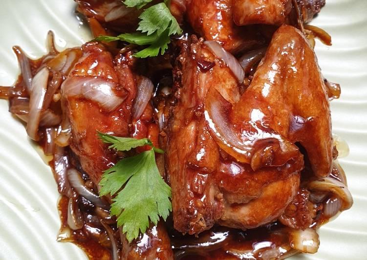 Resep Ayam Mandi Saus Kecap