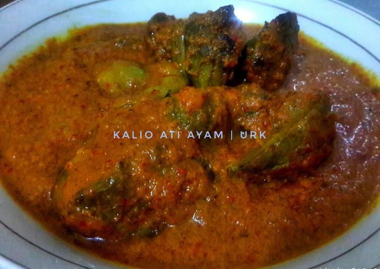 Resep Kalio Ati Ayam