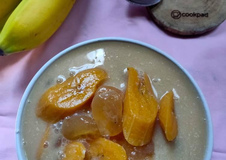 Resep Kolak pisang + Kolang-kaling