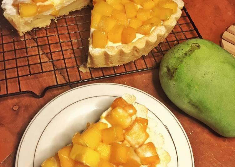 Resep Manggo tart