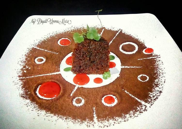 Resep Bolu Karamel aka Cake Sarang Semut 6 telur