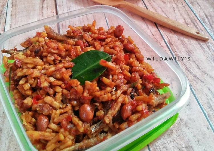 Resep Favorite 1 Kering Tempe Teri Kacang Seninsemangat Yang Lezat