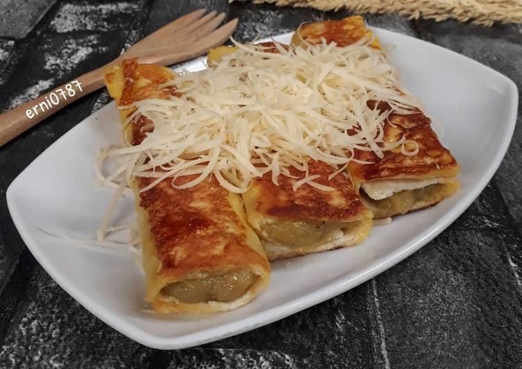 Resep Roti Panggang Isi Pisang