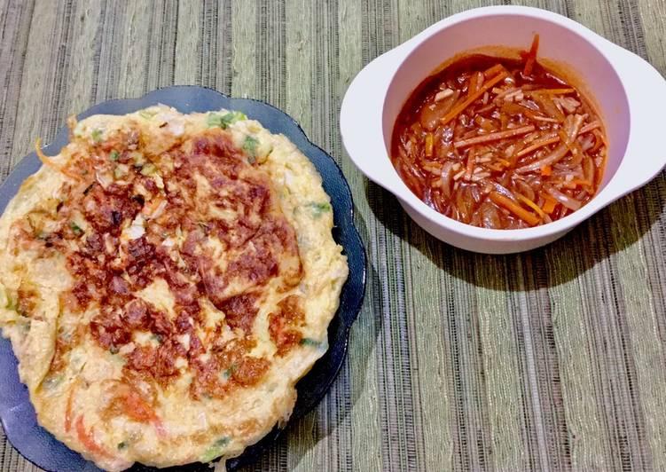 Resep Fuyung hai sayuran ala shelly