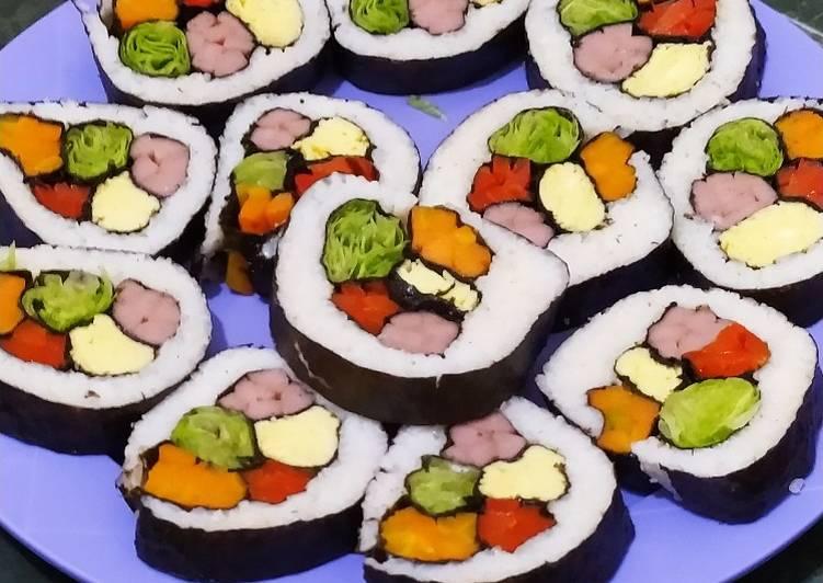 Resep Kimbab Sederhana
