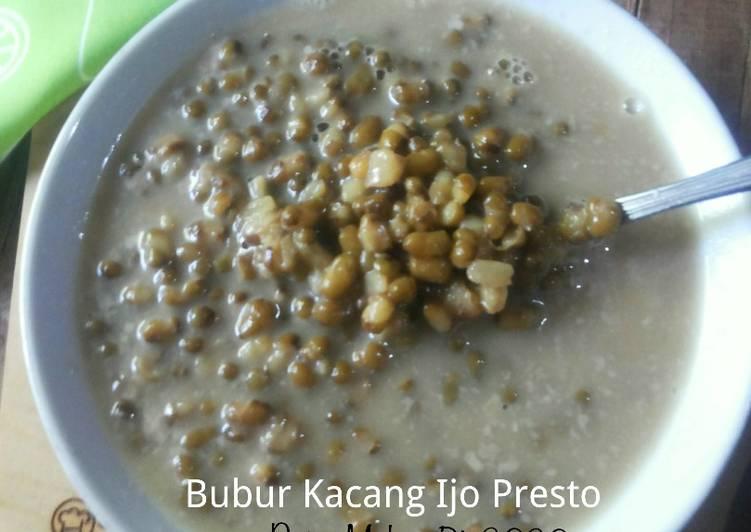Resep Bubur Kacang Ijo Presto