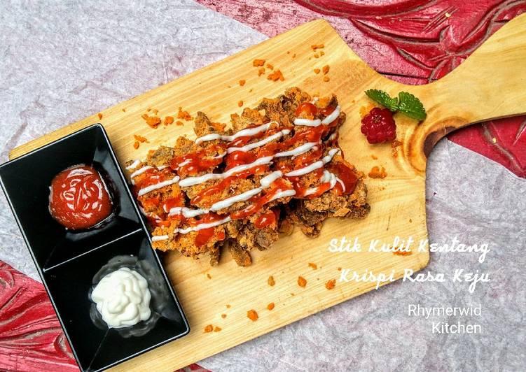 Resep Stik Kulit Kentang Krispi Rasa Keju