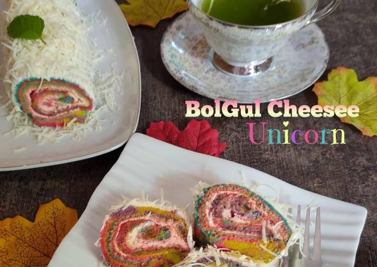 Resep BolGul Cheesee Unicorn
