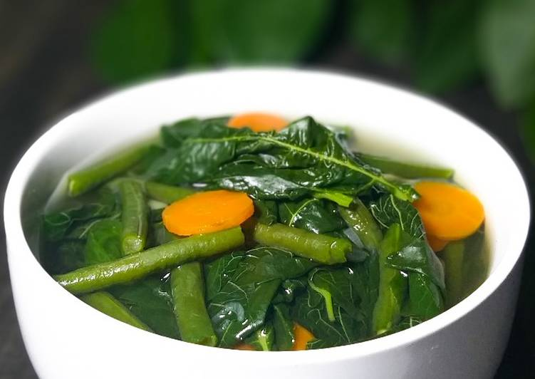 Inspirasi Resep Sayur Bening Bayam Yang Lezat