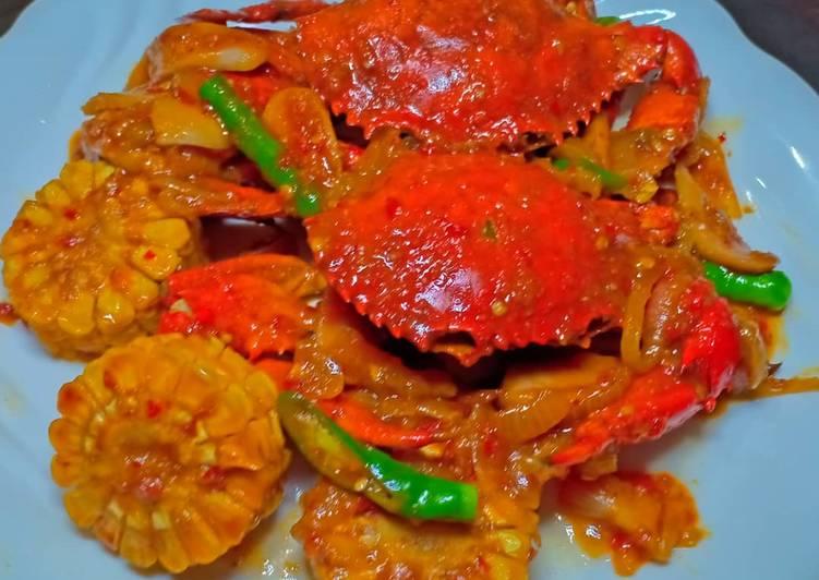 Resep Kepiting saos padang