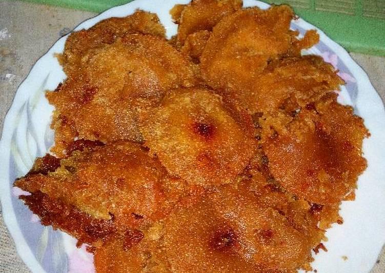 Resep Kucur gula merah