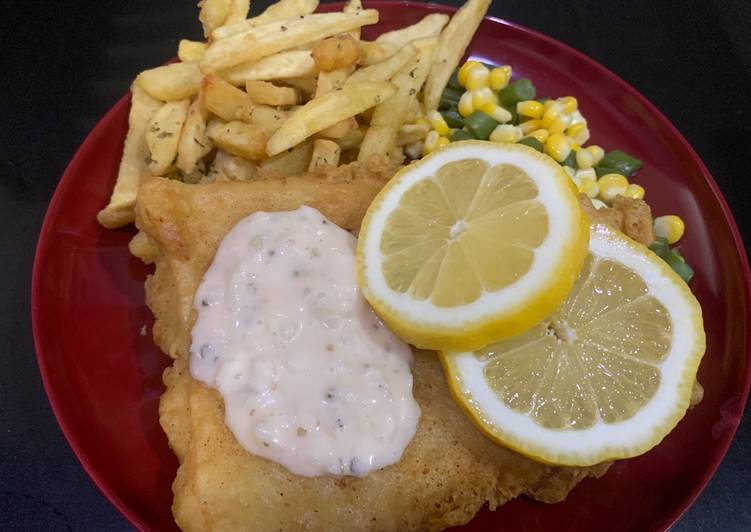 Resep Fish & chip