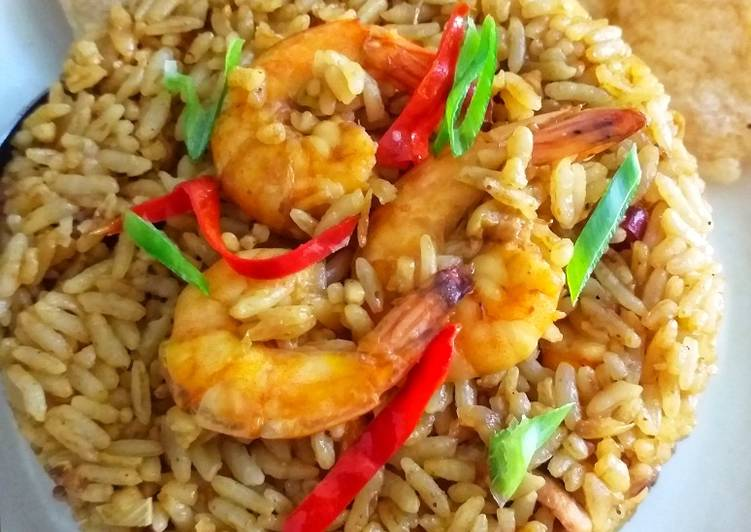 Resep Nasi Goreng Seafood Kari