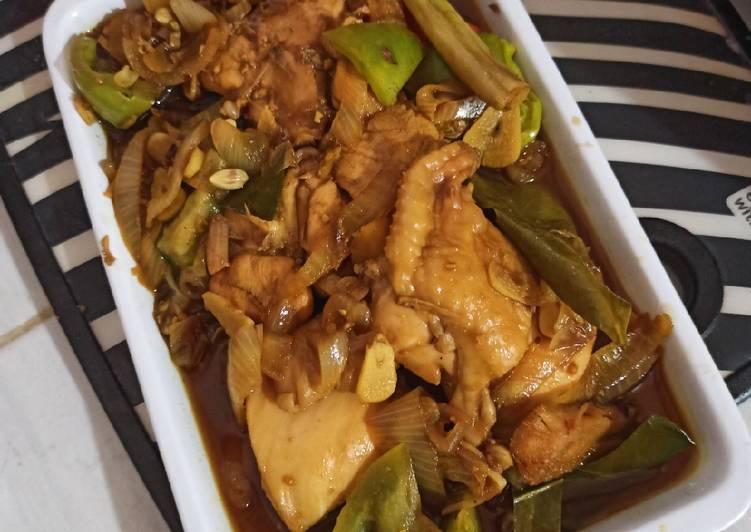 Resep Ayam Kecap / Ayam Kecap ala anak kost