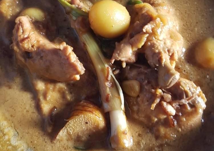 Resep Semur Ayam Telur Puyuh Bumbu Iris