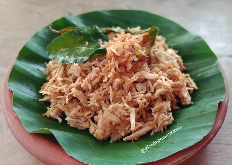 Resep Suwir Daging Ayam