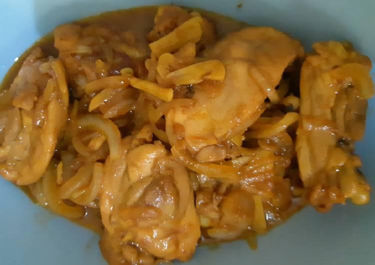 Resep Ayam Goreng Mentega (saus tiram)