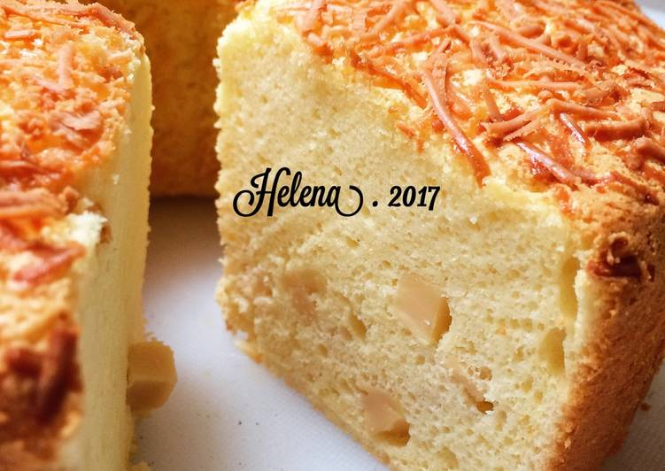Resep Butter n Cheese Chiffon Cake