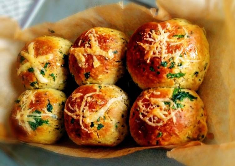 Resep Herbs cheesy mini bread